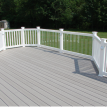Trex decking with custom railing by Fx Home Renovation Somerville NJ