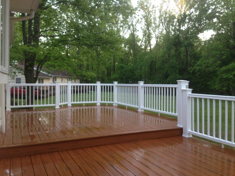 hidden fastener decking  installation in Cranford NJ